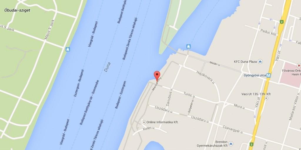 budapest marina part térkép Contact | Dentors Marina: Budapesti Fogászati Rendelő, Esztétikus  budapest marina part térkép