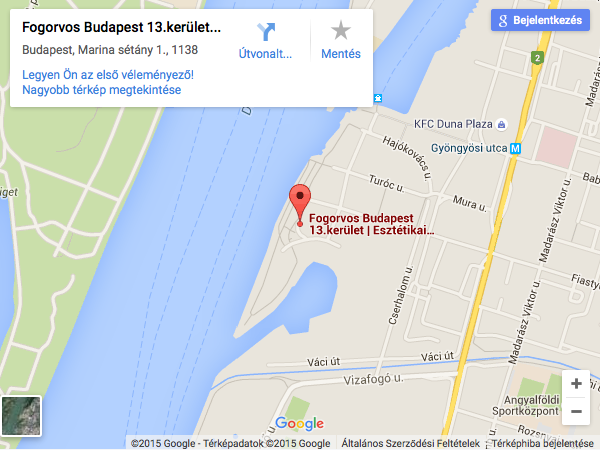 budapest marina part térkép Elérhetőségeink | Dentors Marina: Budapesti Fogászati Rendelő  budapest marina part térkép